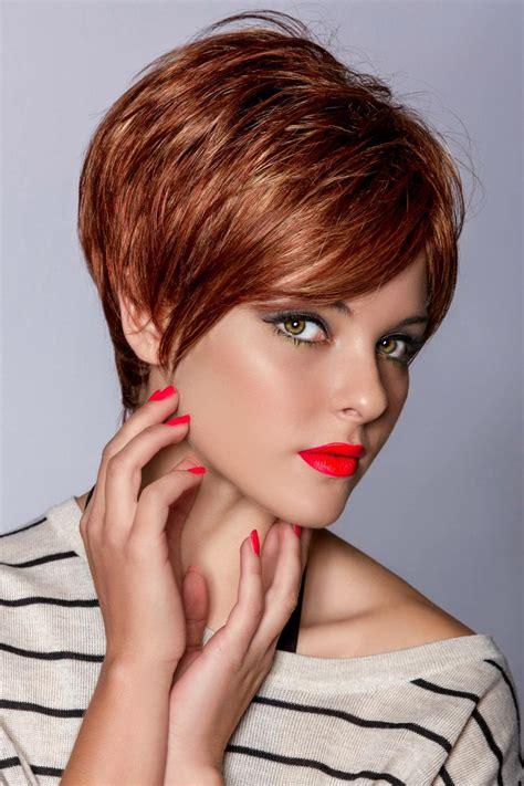 Haarfrisuren Damen by Schicke Kurzhaarfrisuren F 252 R Damen Bildergalerie