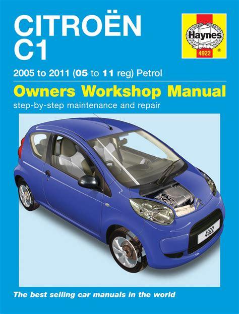 Haynes Workshop Repair Owners Manual Citroen C1 Petrol 05
