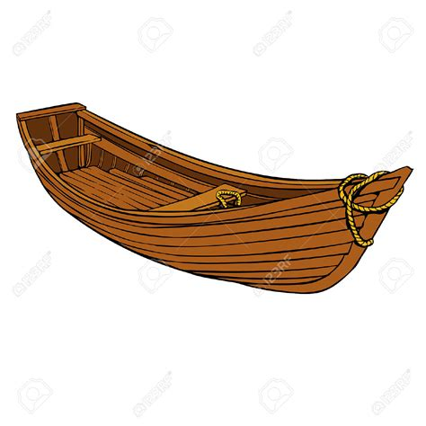 fishing boat clipart vector wooden fishing boat clipart clipground