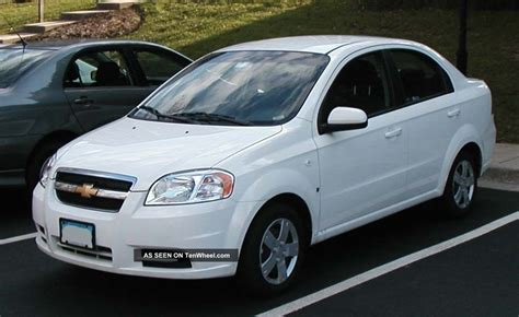 2009 chevrolet aveo lt sedan 4 door 1 6l