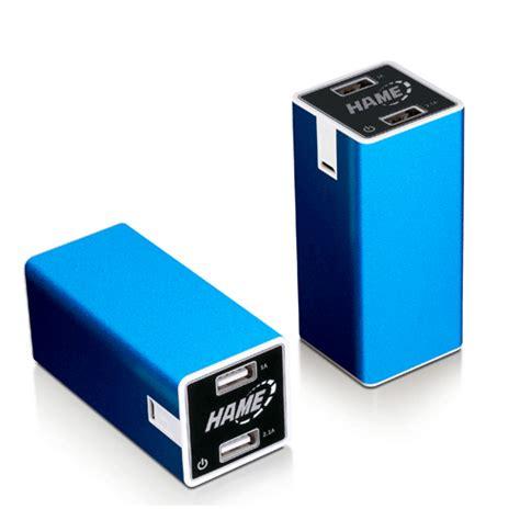 Power Bank Hame 8800 Dual Usb Output Mp11 hame power bank 8800mah dual usb output model hame mp11 mp11 blue jakartanotebook