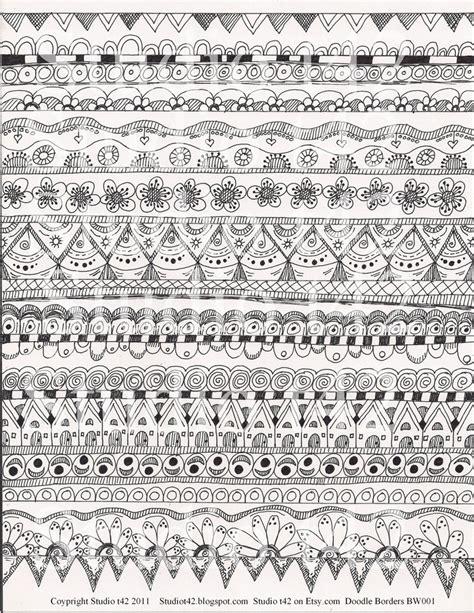 art pattern sheet 17 best images about zentangle borders on pinterest