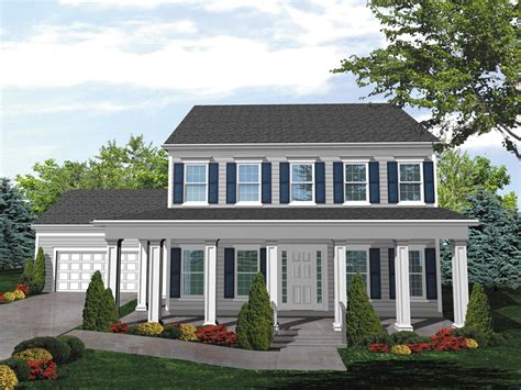 two story house plans with front porch judy colonial home plan 072d 0042 house plans and more