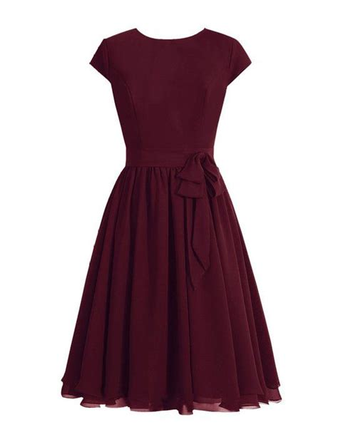 Maroon Just A Pleated Dress 25 best ideas about burgundy dress on formal