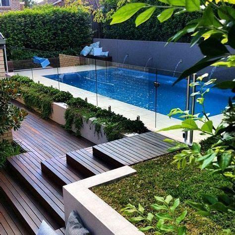 decoracion de jardines pequeños exteriores con piedras jardines modernos con piscinas affordable piscina bonita