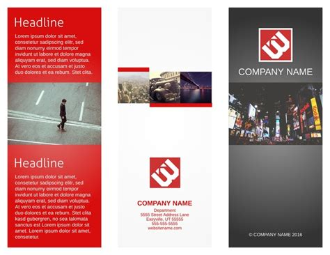 templates for creating brochures free brochure templates exles 20 free templates