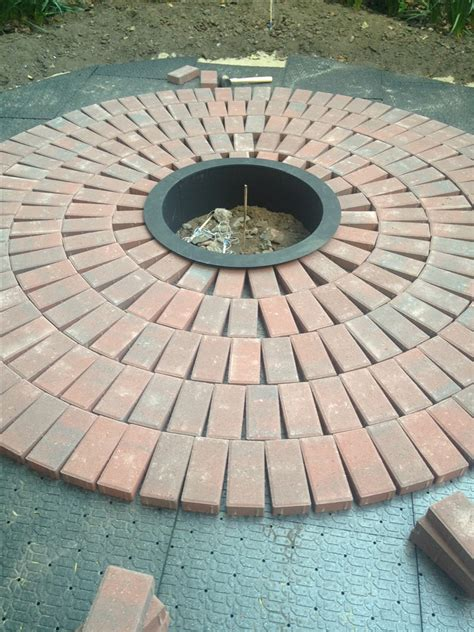 how to make a patio out of pavers diy how to create a backyard brick patio