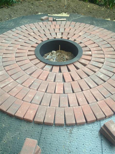 diy how to create a backyard brick patio
