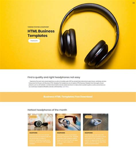 Template Free Html5