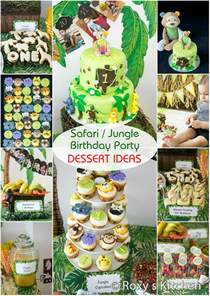Jungle Themed First Birthday Decorations - safari jungle themed first birthday party part iii diy