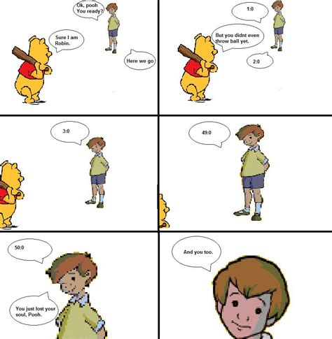 Christopher Robin Meme - image 472471 winnie the pooh s home run derby know