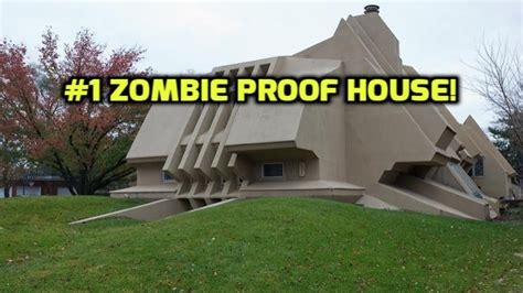 zombie proof house 1 zombie proof house to escape the walking dead youtube