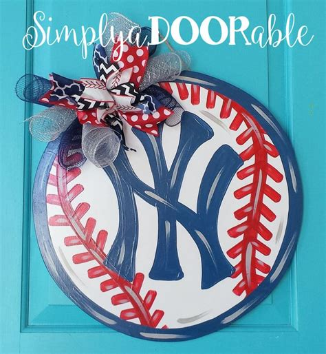 Hdm Simply Top Baseball 118 best images about simply adoorable southern door decor on football wood doors