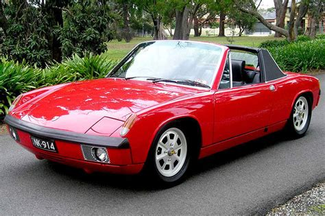 old porsche 914 sold porsche 914 6 cyl targa coupe rhd auctions