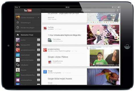 new youtube layout ipad google ver 246 ffentlicht youtube app f 252 r das ipad und ipad