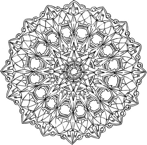 free coloring pages kaleidoscope designs welcome to dover publications adult coloring pages