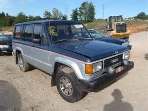 1988 Isuzu Trooper For Sale Rebuildable 1988 Isuzu Trooper Ii For Sale In Nc China