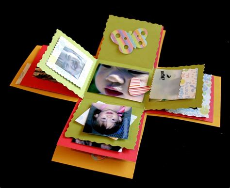 explosion box tutorial scrapbooking weird wonderful and wacky how to explosion scrapbook