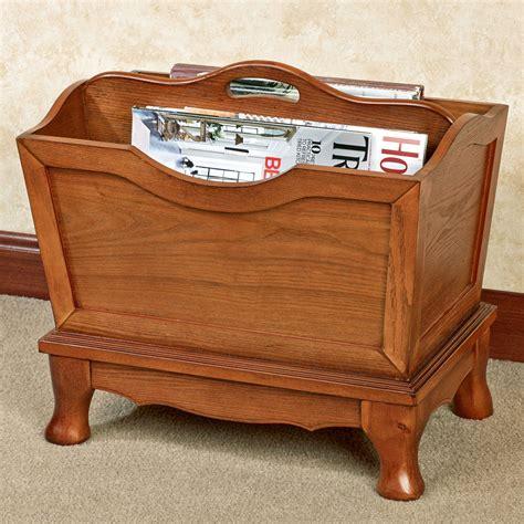 Wooden Magazine Racks by Lyndhurst Oak Wooden Magazine Rack