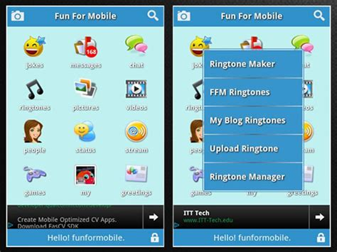 mobile themes with ringtone funformobile mp3