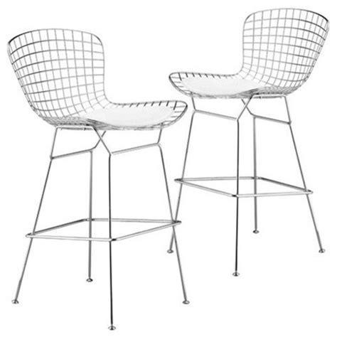 zuo modern wire bar stool zuo modern westfall 27 5 inch wire counter stool with