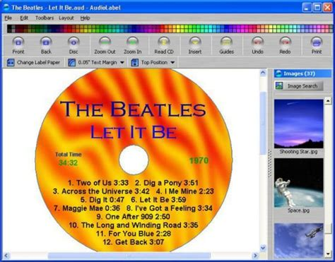 Cd Cover Label Maker Online