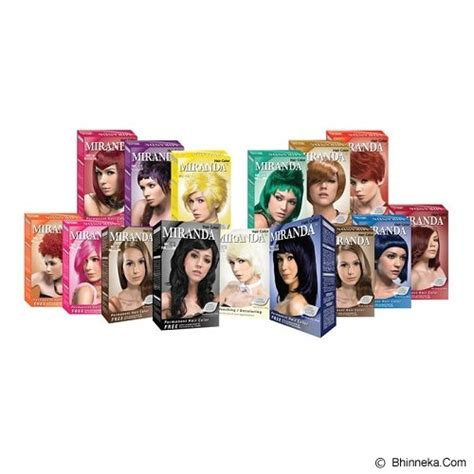 Pewarna Rambut Miranda Black jual miranda hair color 100gr black murah bhinneka mobile version