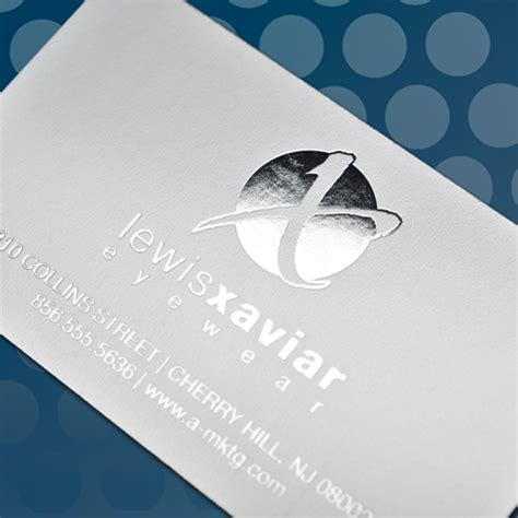 silver foil business card template wholesale business cards foil thermography printing