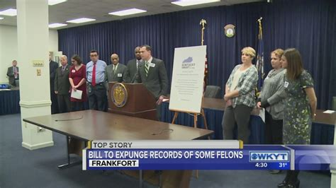 Expunge Criminal Record Kentucky Kentucky House Approves Bill To Expunge Non Criminal S Records