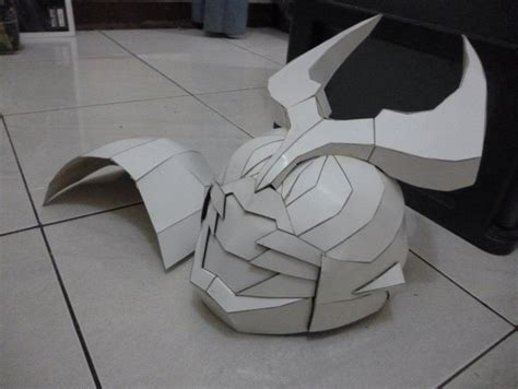 Kamen Rider Helmet Papercraft - kamen rider agito helmet papercraft by x on deviantart