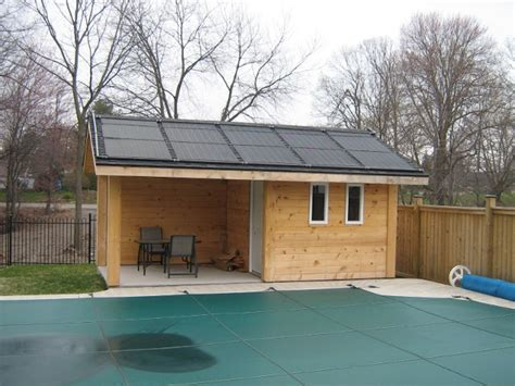 pool shed daystar energy products solar energy system specialists