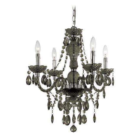 black glass chandeliers in black chandelier with swag kit 8351 4h destination lighting