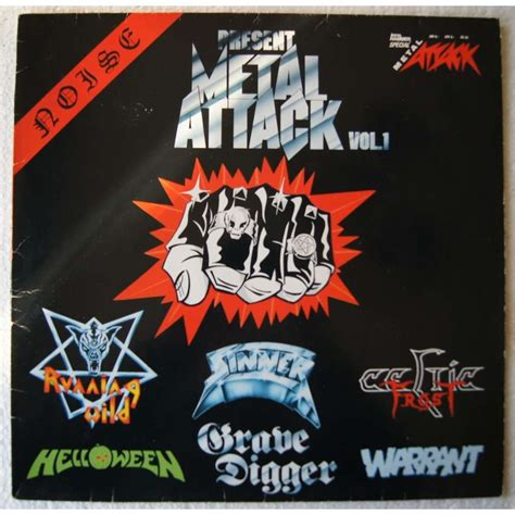 Attack Vol 1 metal attack vol 1 by various artists lp with 4059jacques ref 115863069