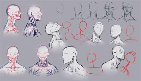 doodle draw drawing necks by moni158 on deviantart