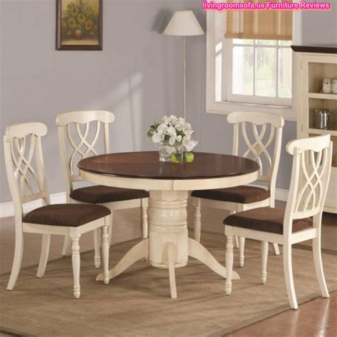 informal dining room wood round table and chairs casual dining room furniture
