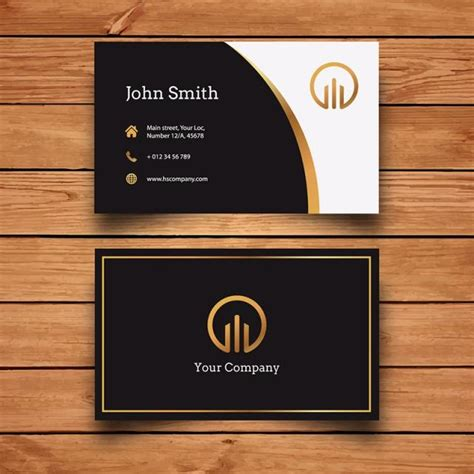 black and silver business card templates black and gold business card template for free on