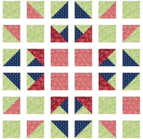 Names Of Quilt Blocks by Rhonda S Easy Way To Hst Quilt Blocks And Others