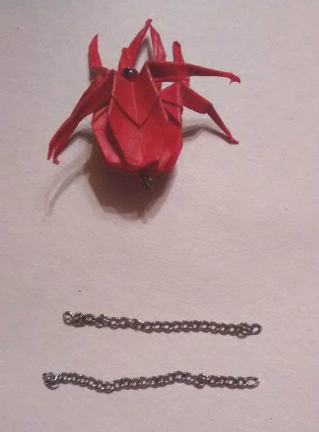 Origami Jumping Spider - origami spider earrings 11