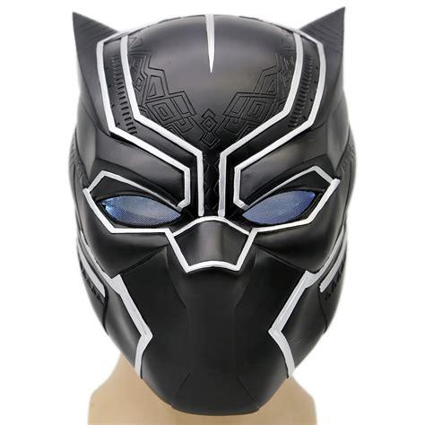 Softlense New Bluk Big Softlense New Bluk black panther mask captain america 3 civil war soft resin helmet presale the best