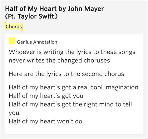 my lyrics meaning chorus half of my lyrics meaning