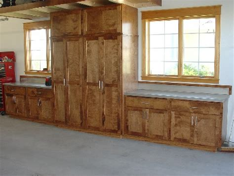 Wooden Cabinets For Garage by Garage Cabinets Solid Wood Garage Cabinets
