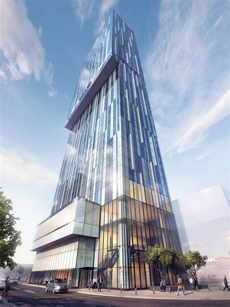 place north west beetham tower applies  cladding fix