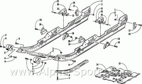 1980 polaris snowmobile wiring diagram polaris voltage