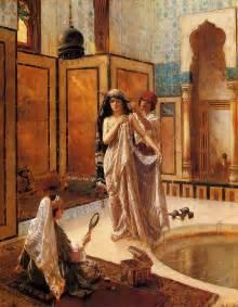 Bath Painting by Rudolf Ernst The Harem Bath Painting Ipaintingsforsale Com