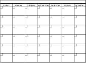 Customized Calendar Template by Calendar Template Blank Calendar Printable