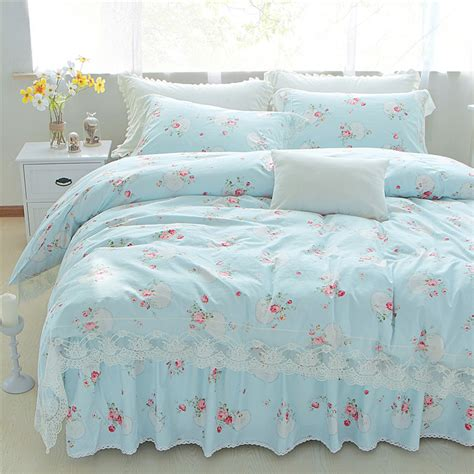 shabby chic full size bed set rs floral design perfect