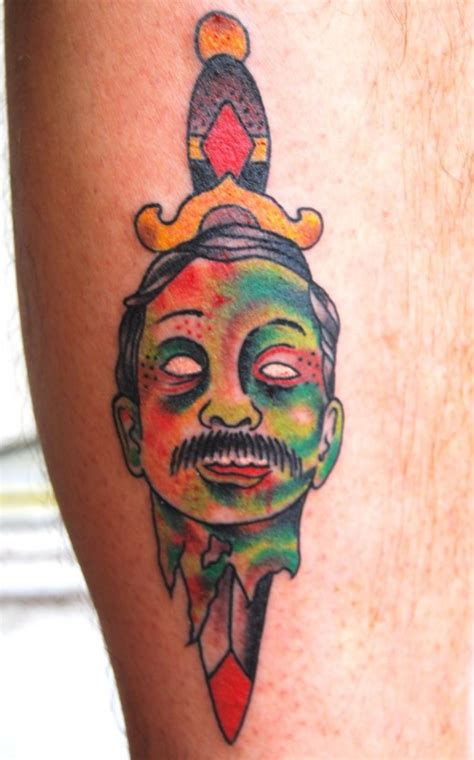 zombie girl tattoo designs fantastic designs for 2011 sheclick