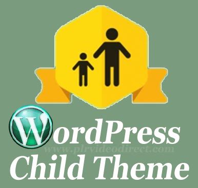 child theme creator wordpress childtheme post image plr video direct