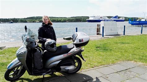 Motorrad Reisen Ins Baltikum by Mit Dem Motorroller Ins Baltikum Reisen