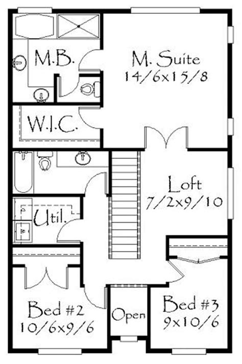 house plan    bedroom  sq ft ranch
